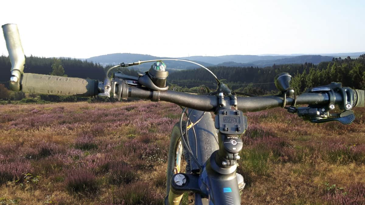 Mountainbike in der Eifel